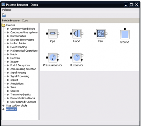 An aeraulic toolbox for Xcos   Scilab Professional Partner